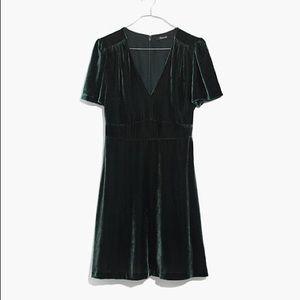 Madewell Velvet Mini Dress